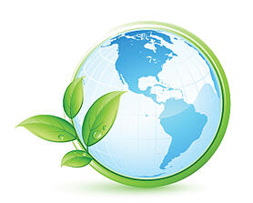 Environmental and energy solution world image