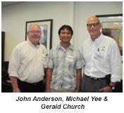 John, Michael & Gerald