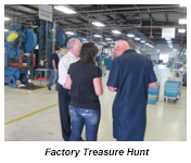 Factory Treasure Hunt