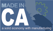 manufacturing made in ca logo