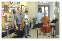 Daddario open house jazz band