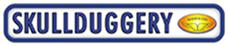 skullduggery logo made in california holiday products