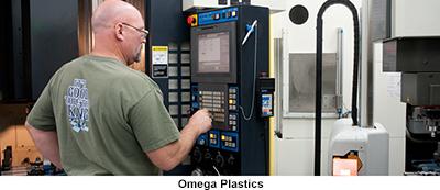 manufacturing 25 years MEP Omega Plastics