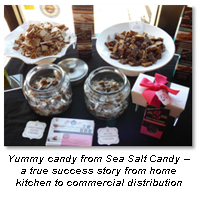 california made products candy food manufacturer sea salt candy