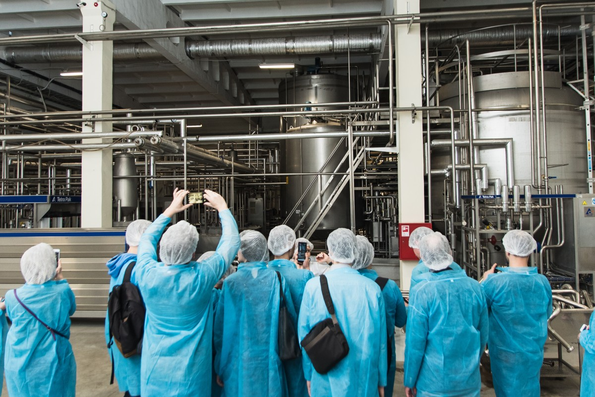 manufacturing facility tour