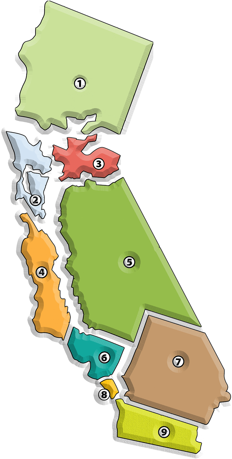 CMTC California Map by region exploded view 2018.png