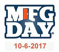 Manufacturing Day is Friday, October 6, 2017. Start planning now!
