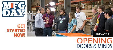 Consider hosting a group of students at your Manufacturing Day event.