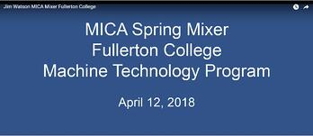 Video of speakers at Made in CA Spring Mixer at Fullerton College April 12, 2018