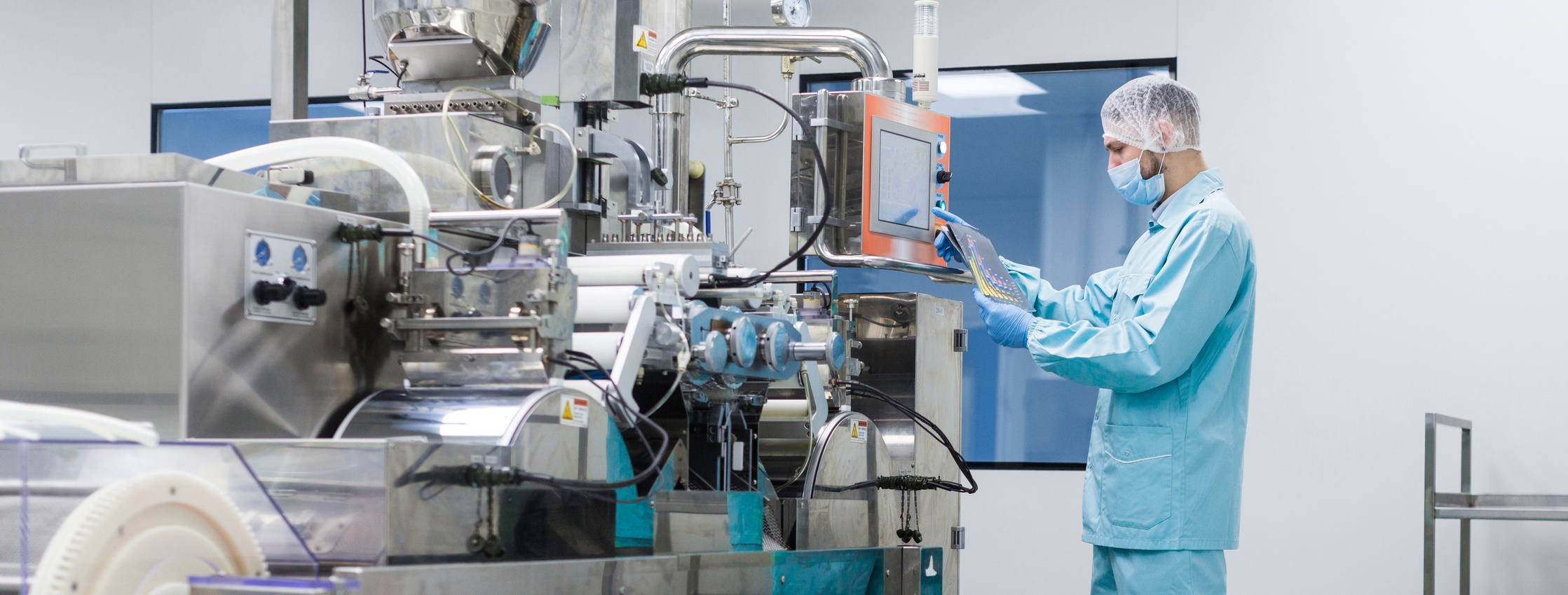 Maintaining contaminant-free conditions is a must in the food manufacturing industry.