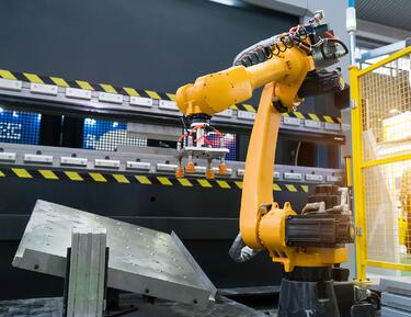Robotic hand machine tool used in modern manufacturing