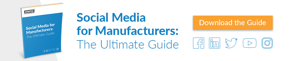 Download CMTC's Guide to Social Media for Manufacturers