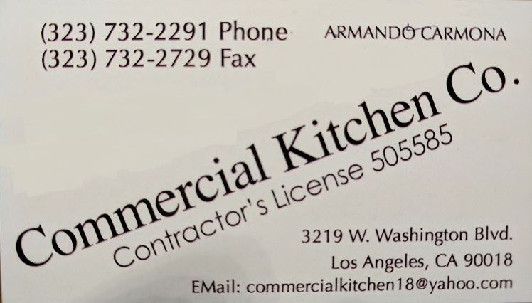 Commercial Kitchen Co